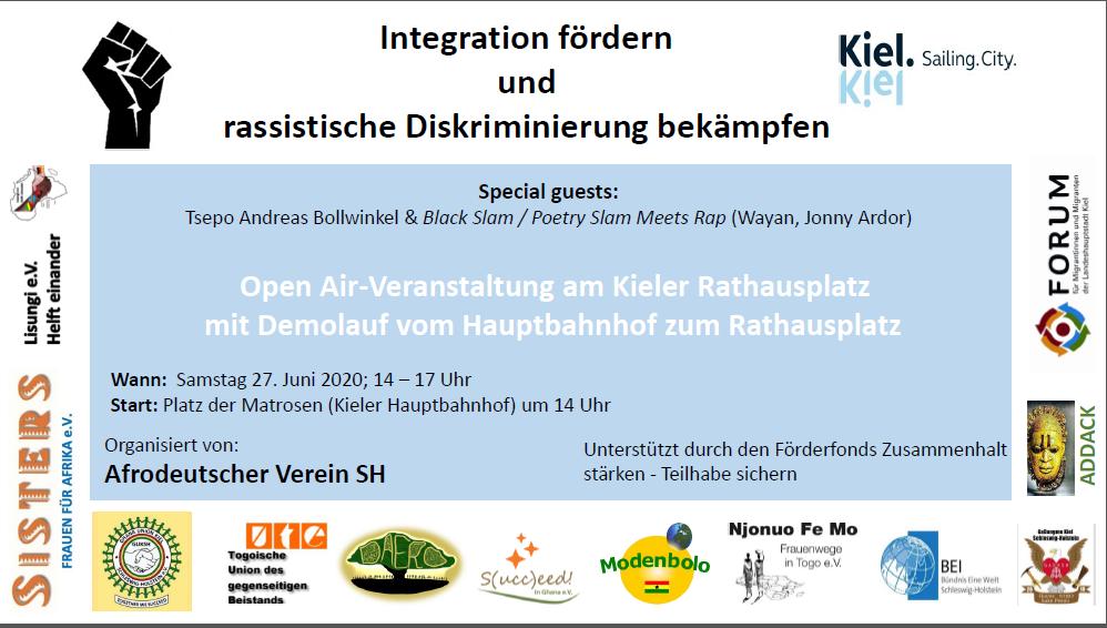 OpenAir-Veranstaltung des Afrodeutschen Vereins